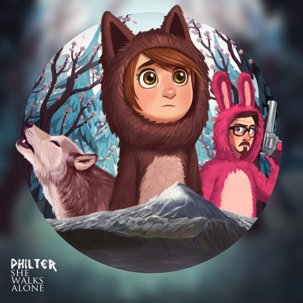 Philter - She Walks Alone (Front)